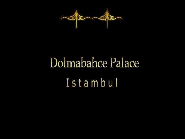 Le palais de Dolmabahçe à Istamboul (Turquie), situé sur le côté européen du Bosphore, fut le principal centre administrat...
