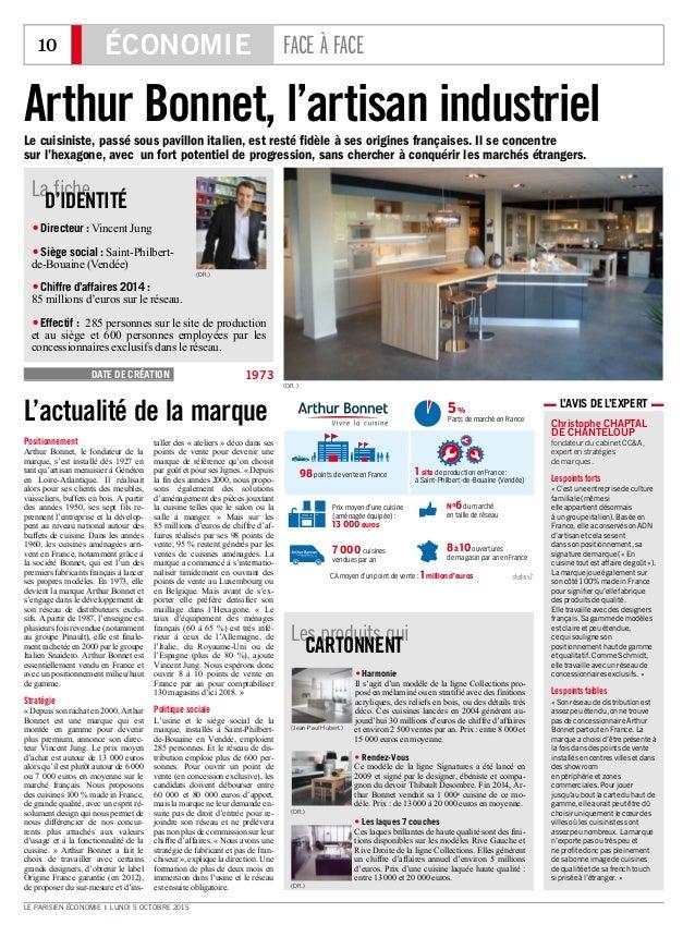 10 ÉCONOMIE FACE À FACE LE PARISIEN ÉCONOMIE I LUNDI 5 OCTOBRE 2015 Christophe CHAPTAL DE CHANTELOUP fondateur du cabinet ...