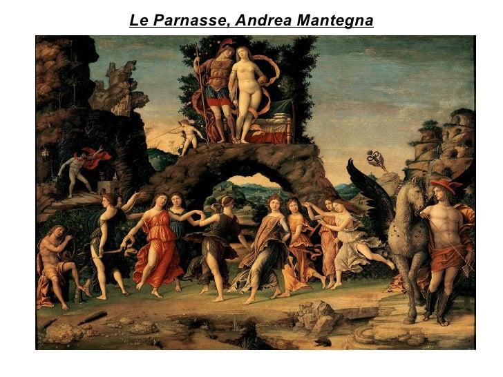 Le Parnasse, Andrea Mantegna