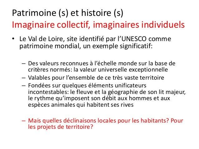 Les agences d'urbanisme et le patrimoine territorial Slide 3