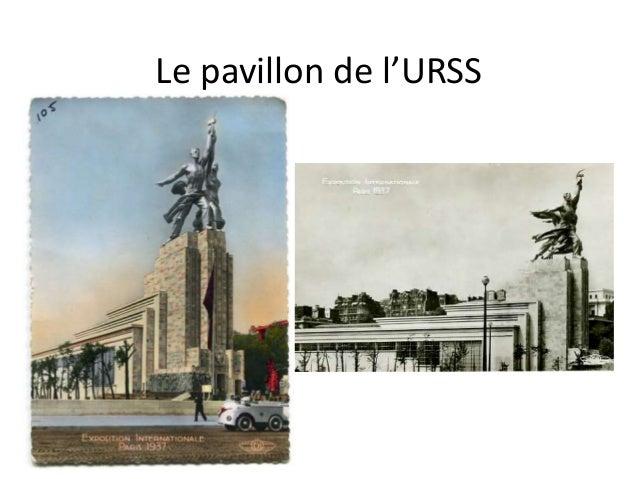 Le pavillon de l'URSS