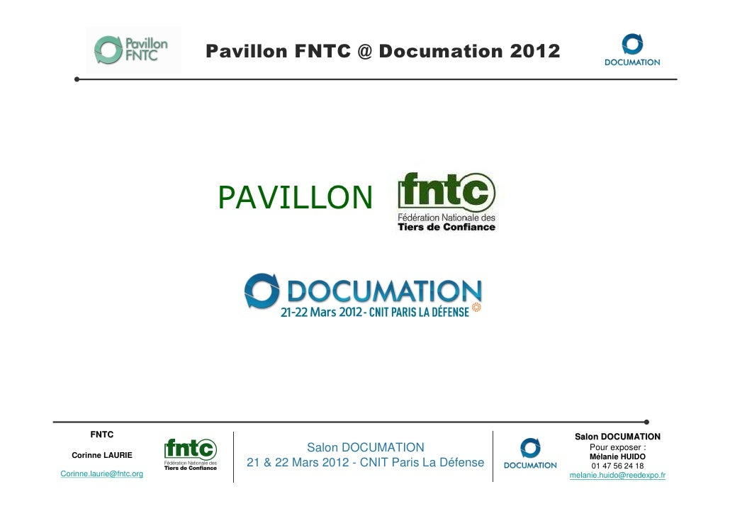 Pavillon FNTC @ Documation 2012                           PAVILLON        FNTC                                            ...