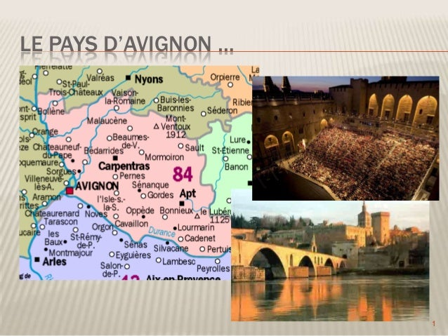 LE PAYS D'AVIGNON …  1