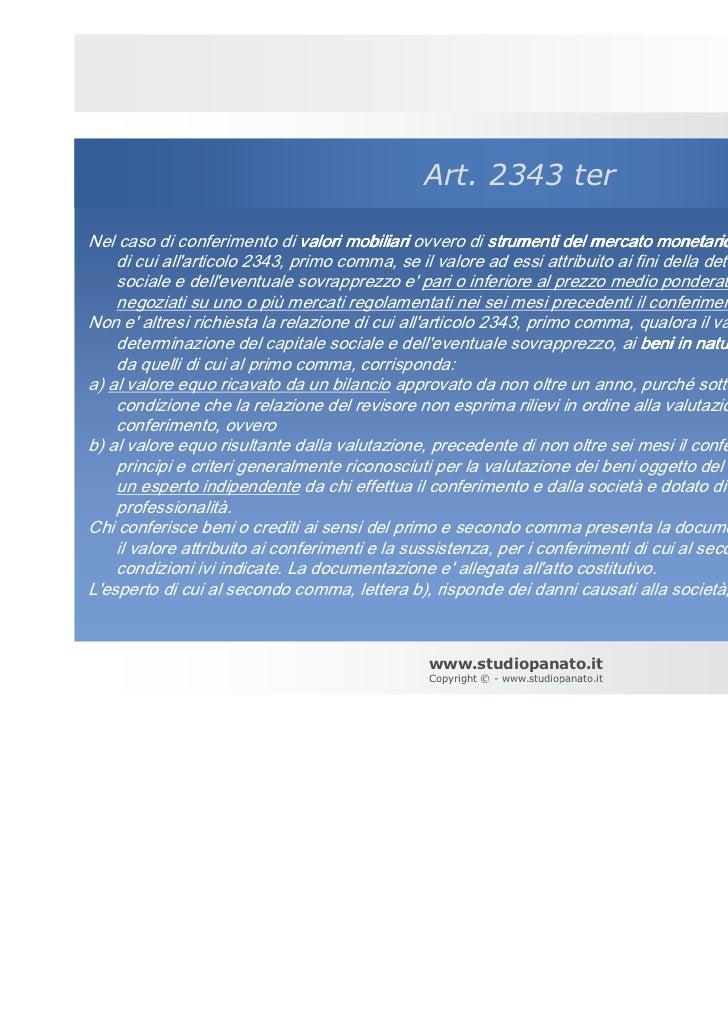 Le perizie di stima cattolica piacenza 2011 - Crediti diversi in bilancio ...