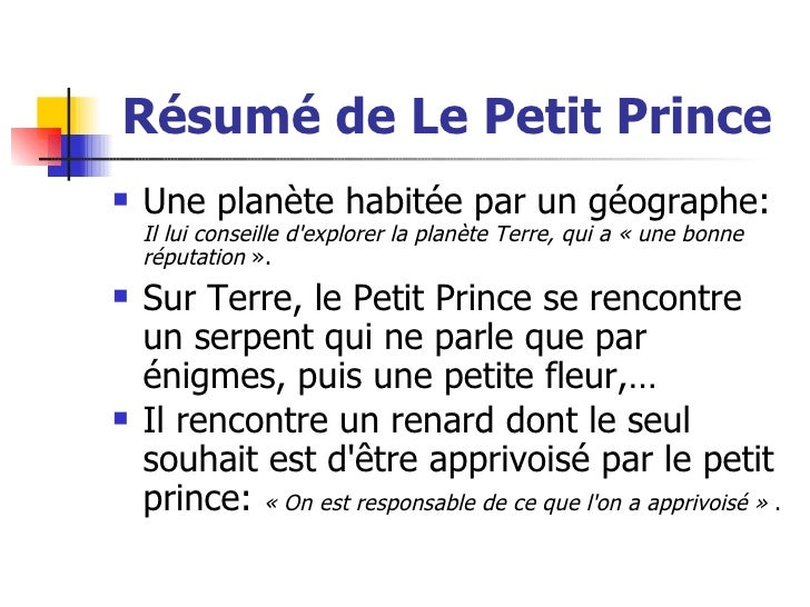 essay questions le petit prince The little prince or le petit prince was inspired by the author antoine de saint exupery's real life experience and just added fictionalized images to make it real and understandable it became the marvelous book written for children.