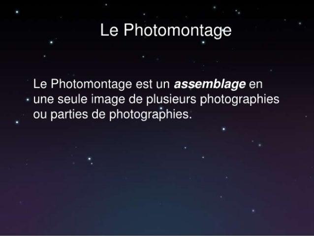 Le photmontage (1)