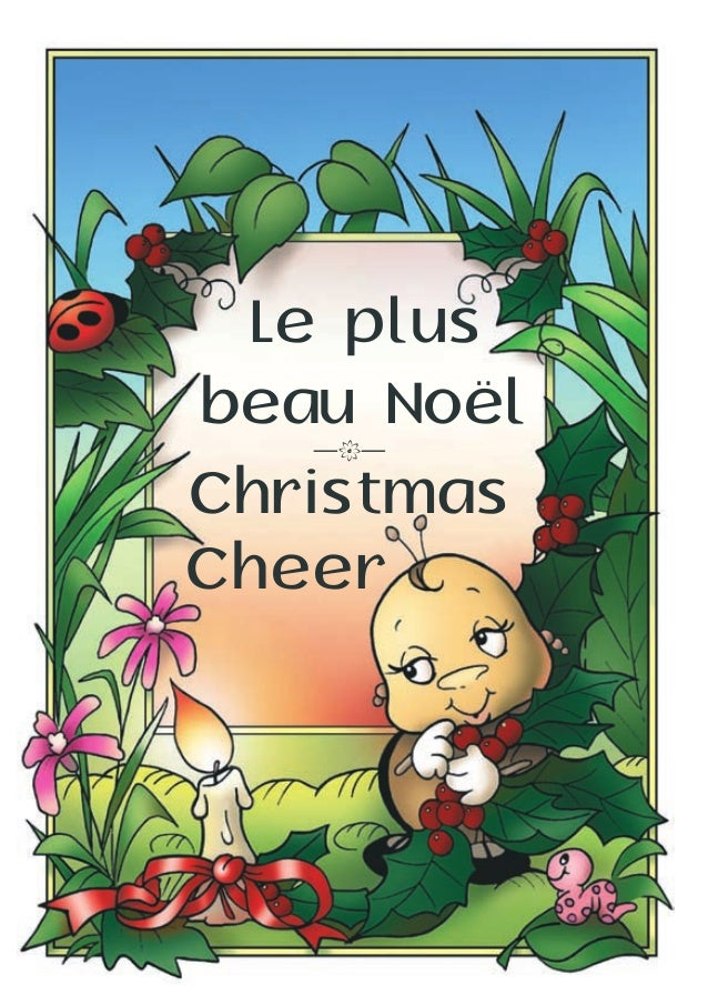Le plus beau Noël Christmas Cheer —k—