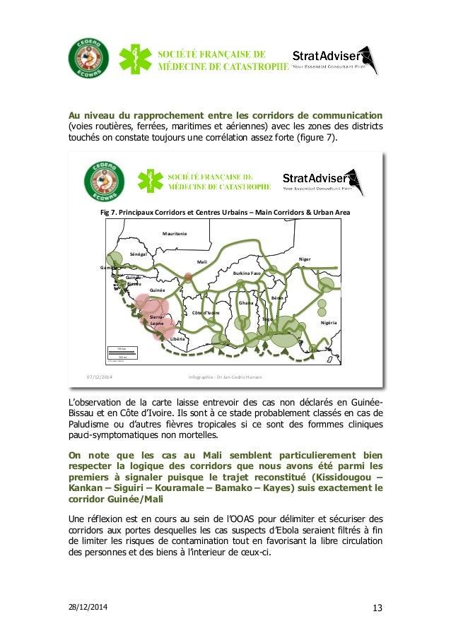 28/12/2014 13 Au niveau du rapprochement entre les corridors de communication (voies routières, ferrées, maritimes et aéri...