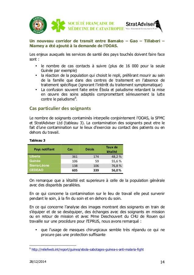 28/12/2014 14 Un nouveau corridor de transit entre Bamako – Gao – Tillaberi – Niamey a été ajouté à la demande de l'OOAS. ...