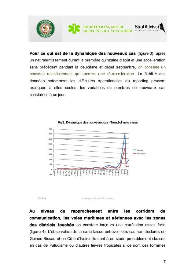 Pour ce qui est de la dynamique des nouveaux cas (figure 3), après  un net ralentissement durant la première quinzaine d'a...
