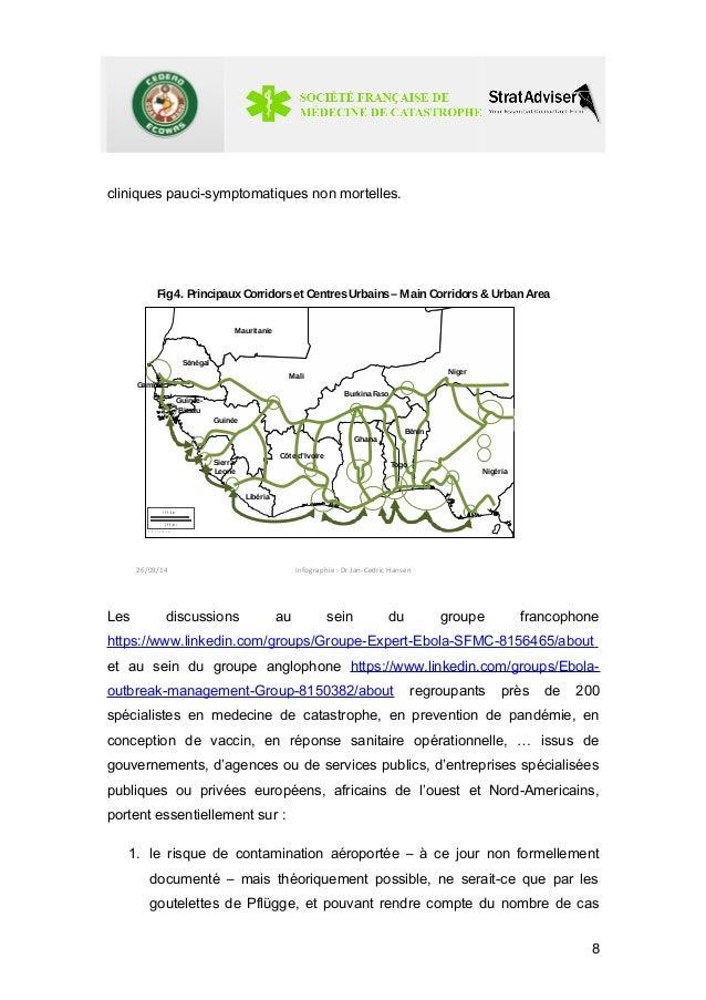 cliniques pauci-symptomatiques non mortelles.  Fig4. PrincipauxCorridorset CentresUrbains–MainCorridors& UrbanArea  3 0 0 ...