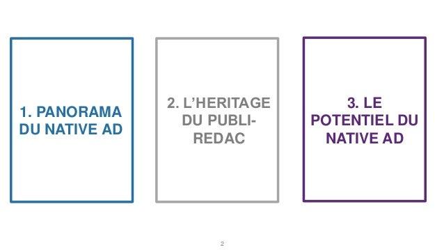 Le potentiel du native advertising  Slide 2