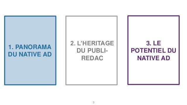 Le potentiel du native advertising  Slide 3