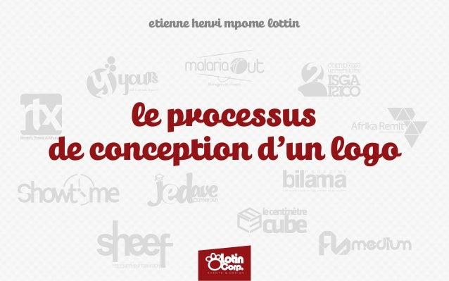 etienne henri mpome lottin Rentals,Travels&Xchange le processus de conception d'un logo