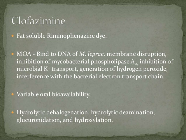  Patients with intolerance, resistance, or clinical failure  to primary therapy(rifampicin).   Inhibits DNA gyrase - DNA...