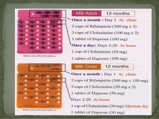 Management of Leprosy