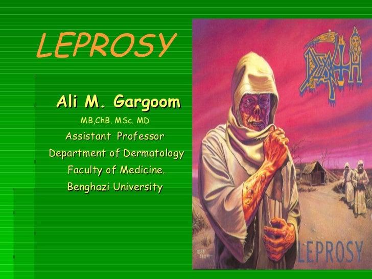 Leprosy for undergraduate medical students