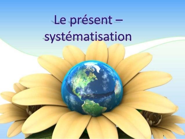  Le présent est un des temps simples de l' indicatif.  Emploi Le présent de l'indicatif exprime un fait qui se déroule a...