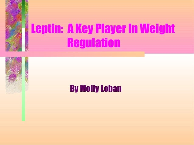 Leptin: A Key Player In Weight Regulation By Molly Loban