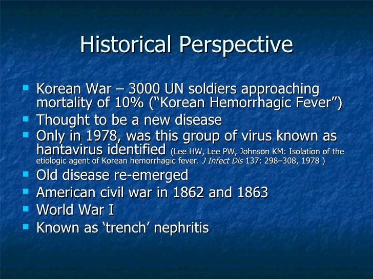 A study of hantavirus