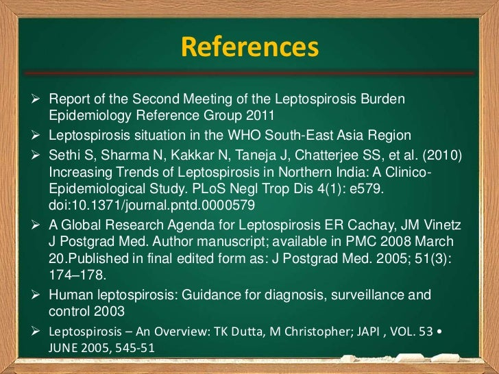 Leptospirosis- Dr Ajay Tyagi