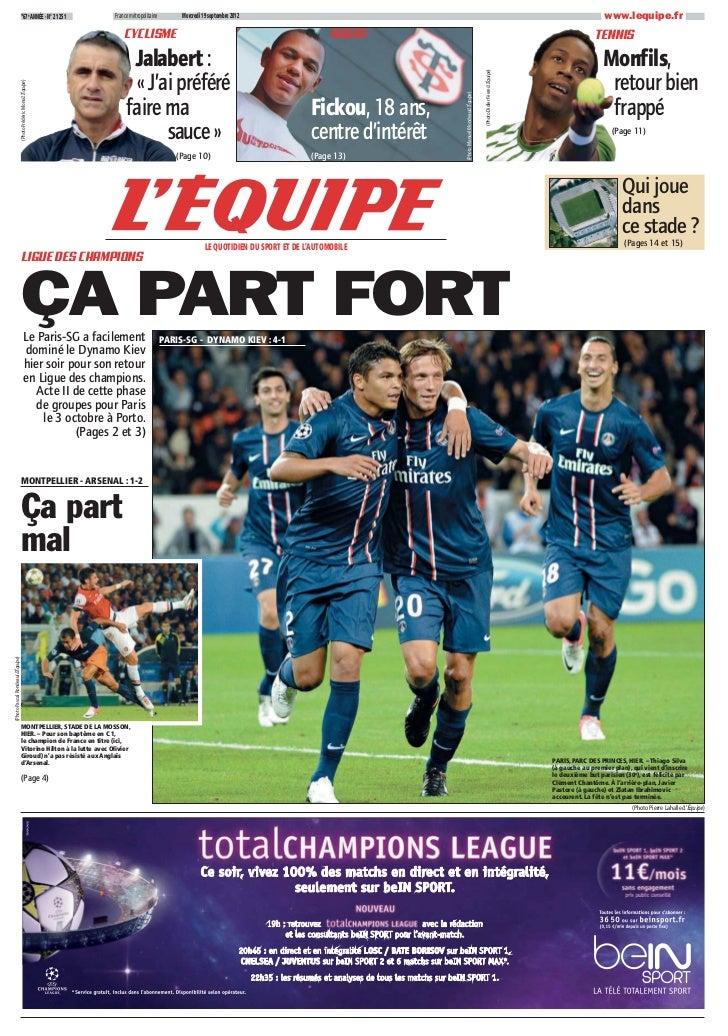 *67e ANNÉE - N° 21 251           France métropolitaine        Mercredi 19 septembre 2012                                  ...