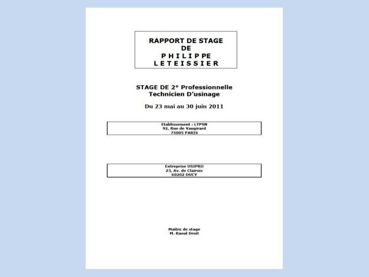 Pagina De Garde Pour Rapport Stage Pdf Download