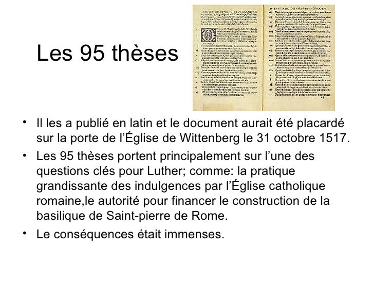 95 de les luther thesis