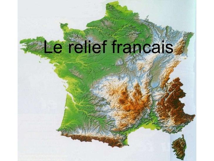 Le relief francais