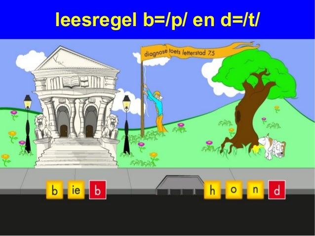 leesregel b=/p/ en d=/t/