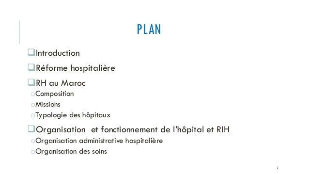 Le reseau hospitalier maroc et rih Slide 2