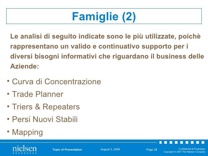 Topic of Presentation Page  <ul><ul><ul><li>Curva di Concentrazione </li></ul></ul></ul><ul><ul><ul><li>Trade Planner </li...