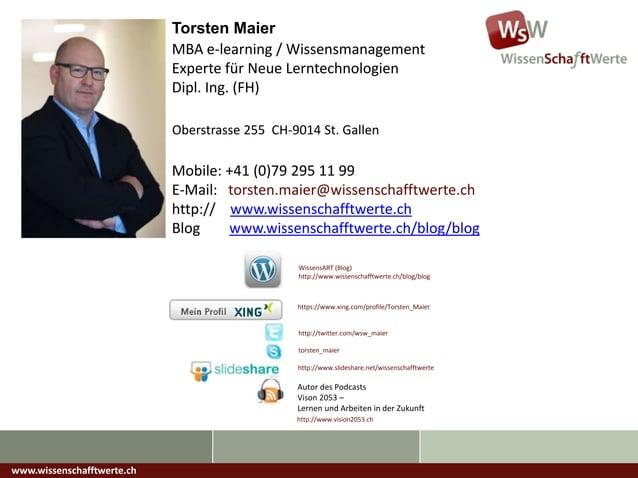 Lernen & Arbeiten 2.0 - Mobile Learning