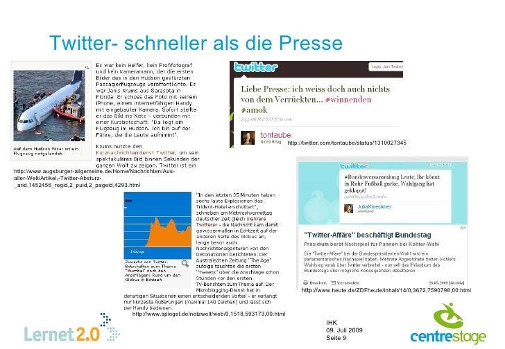 Twitter- schneller als die Presse                                                                                         ...
