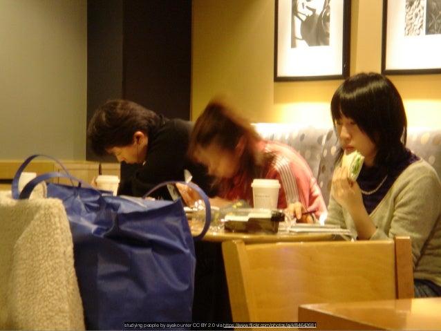 Studying hard - Starbucks Taipei by Boyd Jones unter CC BY NC ND 2.0 via https://www.flickr.com/photos/boydjones/492822331...