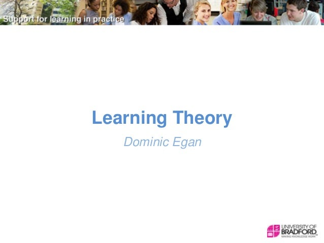 Learning Theory Dominic Egan