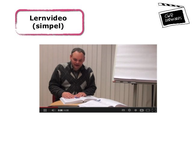 Lernvideo (simpel)