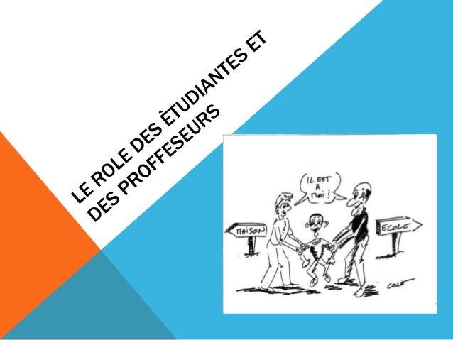 LA CLASSE EXPOSITIVERôle du professeur:Il est l'experte,il a la connaissance et fait l'évaluation aux étudiantsRôle d'étud...