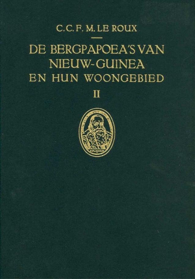 DE BERGPAPOEAS VAN NIEUW-GUINEAEN HUN WOONGEBIED