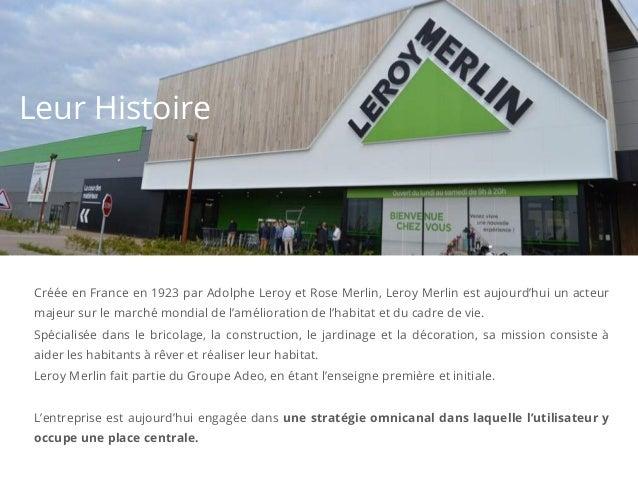 Le cas client Leroy Merlin Slide 2