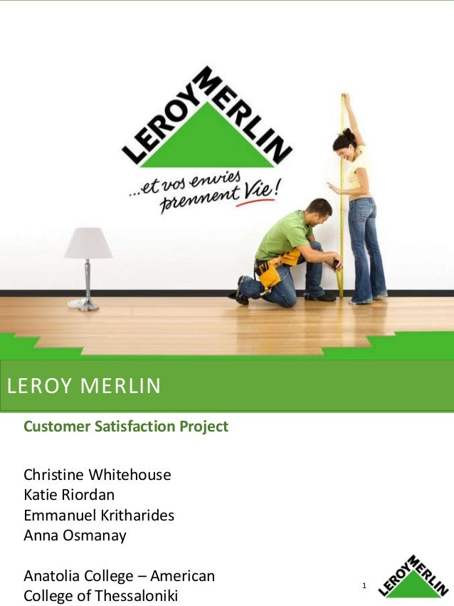 Leroy merlin customer satisfaction project - Dalep 2100 leroy merlin ...