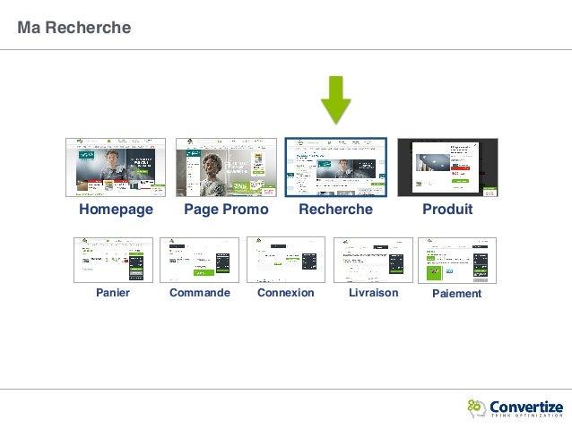 Ma Recherche Homepage ProduitPage Promo Recherche Panier Connexion LivraisonCommande Paiement