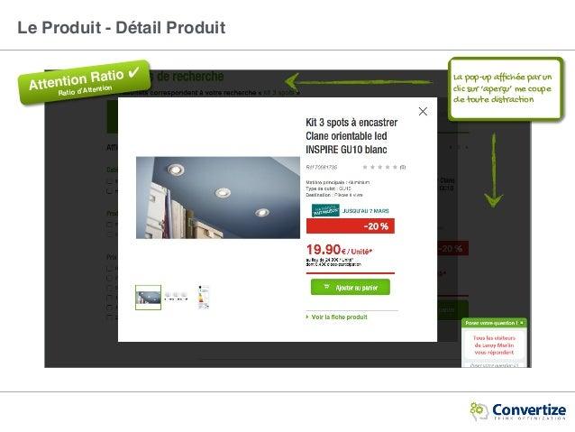 Le Produit - Détail Produit Attention Ratio ✔ Ratio d'Attention La pop-up affichée par un clic sur 'aperçu' me coupe de tou...