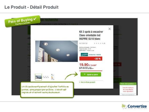 Le Produit - Détail Produit Pain of Buying ✔ Douleur d'acheter Un clic seulement permet d'ajouter l'article au panier, san...