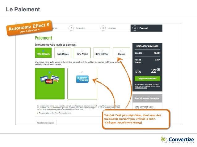Autonomy Effect ✘ Effet d'Autonomie Paypal n'est pas disponible, alors que des paiements souvent peu utilisés le sont. (Ch...
