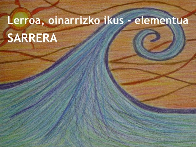 Lerroa, oinarrizko ikus-elementua Slide 2