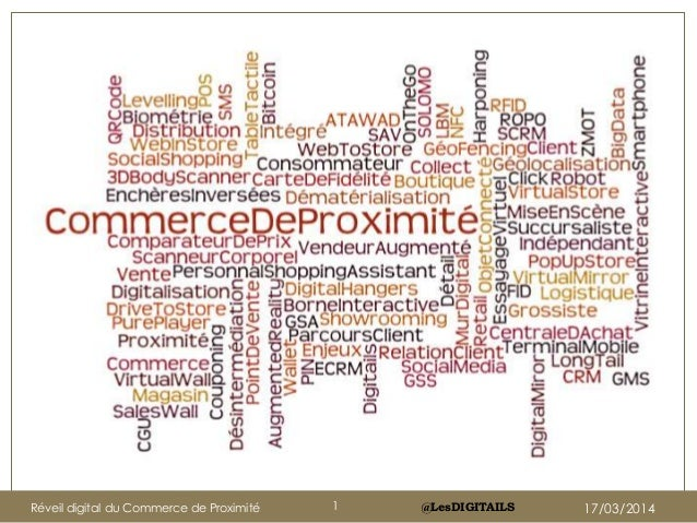 @LesDIGITAILSRéveil digital du Commerce de Proximité 1 17/03/2014