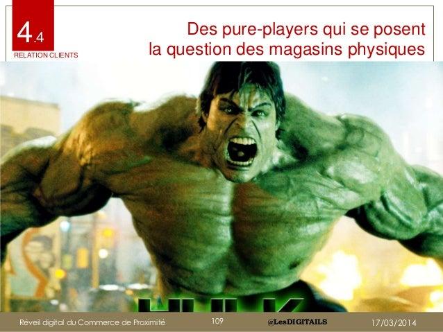 @LesDIGITAILS@LesDIGITAILS Des pure-players qui se posent la question des magasins physiques 4.4 RELATION CLIENTS Réveil d...