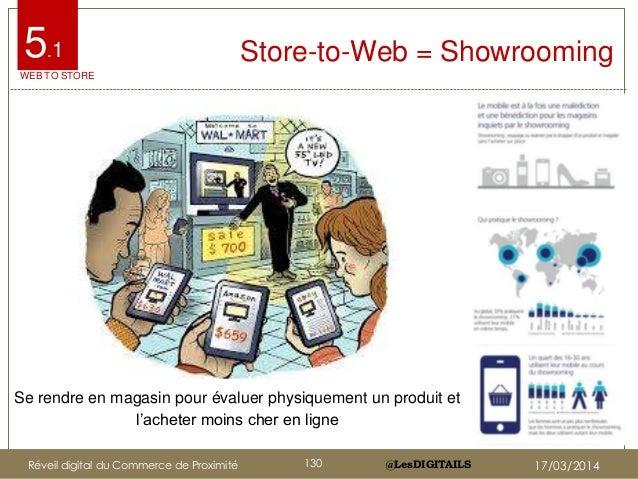 """@LesDIGITAILS@LesDIGITAILS Store-to-Web = Showrooming Se rendre en magasin pour évaluer physiquement un produit et l""""achet..."""