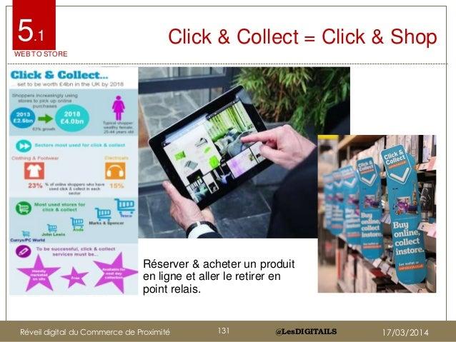 @LesDIGITAILS@LesDIGITAILS Click & Collect = Click & Shop Réserver & acheter un produit en ligne et aller le retirer en po...